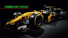 Renault-Castrol R.S.17 é apresentado – veja como a dinâmica dos F1 será diferente em 2017!
