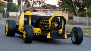 Um carro feito de Lego que funciona de verdade é o sonho dourado de todo geek