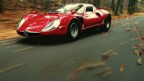 Alfa Romeo 33 Stradale, o supercarro que tinha um coração