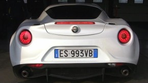 Você nunca ouviu um quatro-cilindros roncar como o Alfa Romeo 4C