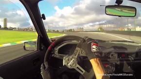 Onboard: Ford Fiesta 2.0 debulhando no autódromo de Interlagos!