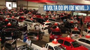 Ano novo, velho imposto: IPI para automóveis volta a partir de 1º de janeiro