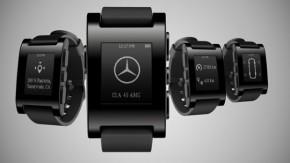 Mercedes cria aplicativo para integrar smartwatch a seus automóveis