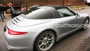 [ Flagra! ] O Porsche 911 Targa está de volta!