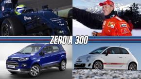 Fiat 500 Abarth pode chegar em julho, recall do EcoSport, o primeiro dia de Massa na Williams e mais!