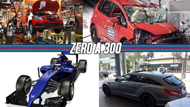 Honda Fit E Fiat 500 Reprovados Em Crash Test, Mercedes CLS Shooting Brake  No