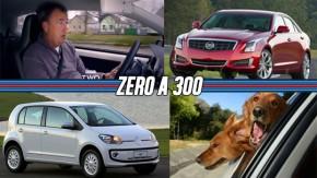 A volta de Top Gear, o consumo do Volkswagen Up! , Cadillac no Brasil em 2015…