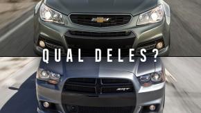 [ RESULTADO ] Chevrolet SS vs. Dodge Charger SRT8: sangue australiano ou clássico Mopar?