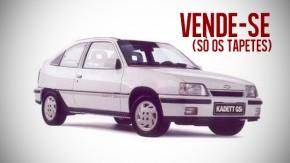 Alguém está vendendo os tapetes originais do Kadett GSi por R$ 4.000!