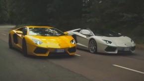 Este é o melhor comparativo já feito com o Lamborghini Aventador
