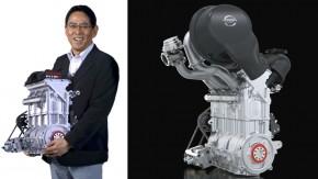 """Nissan desenvolve motor de 40 kg e 400 cv para o """"ex-DeltaWing"""""""