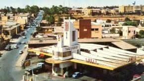 Fiat Tagliero – o posto de combustível mais estiloso da África