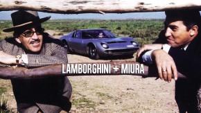 O dia em que Ferruccio Lamborghini conheceu os touros Miura