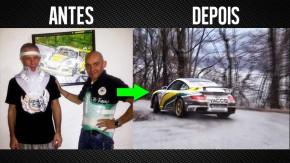 Ninguém seria louco de disputar um rali com um Porsche GT2. Ou não…