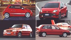 Uma breve história de (quase) todos os hot hatches da Fiat
