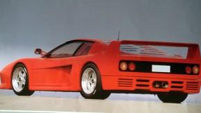 Você transformaria sua Ferrari Testarossa em uma F40?
