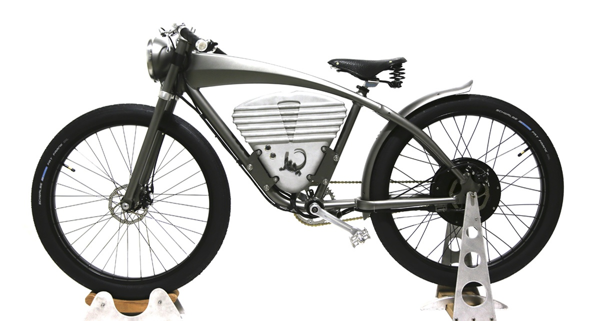 icon e flyer passado e futuro juntos na bike el trica. Black Bedroom Furniture Sets. Home Design Ideas