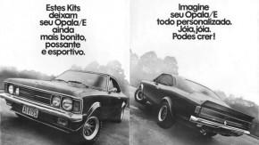 Veja como eram os kits de preparação da Envemo para o Opala na década de 1970