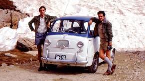 Estes caras atravessaram a Ásia e a Europa neste Fiat 600 Multipla em 1969