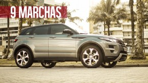 As nove marchas do Range Rover Evoque 2014