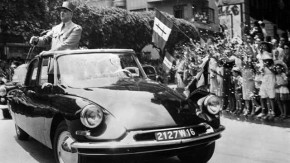 Como o Citroën DS salvou a vida do presidente francês