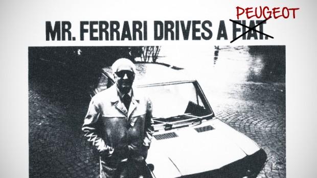 Enzo Ferrari dirige