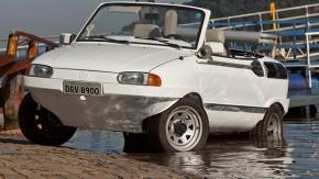 Quer um carro anfíbio? Batráquio, o Schwimmwagen brasileiro, pode ser seu
