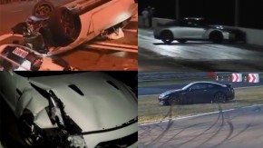 Esta compilação de acidentes mostra por que não se deve brincar com o Nissan GT-R