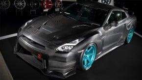 Godzilla de dieta: Nissan GT-R Overtake perdeu 140 kg à base de fibras… de carbono