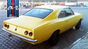 A saga da restauração de um Opala – a história do Project Cars de Charles Santos