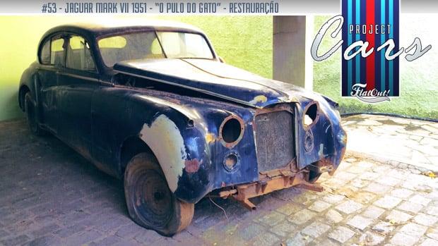 De mão em mão: a história do Jaguar Mark VII de José Curado