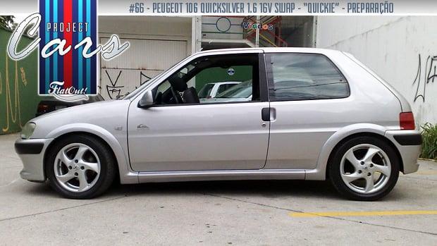 Quikie – a história do Peugeot 106 Quiksilver 1.6 16V de Breno Bassani a97e969e243