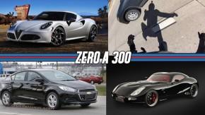 Um supercarro com motor V8 a diesel, Alfa Romeo usará motores Ferrari, um acidente de moto a 225 km/h e mais!