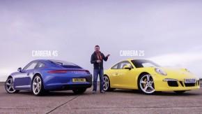 Tração integral ou traseira? Qual versão do Porsche 911 Carrera S será mais rápida (e mais divertida) na pista?