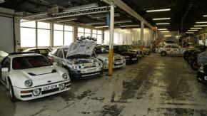 A oficina secreta com as maiores preciosidades da Ford Europeia