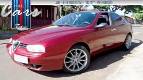 """Uma ruiva de coração esportivo: o Alfa Romeo 156 """"GTA"""" de Helvio Bertolucci"""