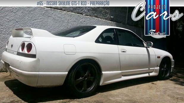 Preparando um Nissan Skyline GTS-T em família: conheça a história do Project Cars #65