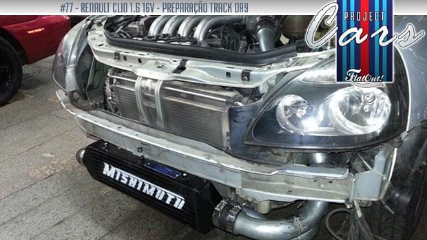 Um Clio turbo para as pistas: conheça o Project Cars de Fellype Saab