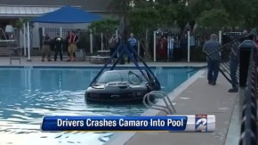 É por isso que você não deve desligar o controle do seu Camaro ZL1 perto de piscinas