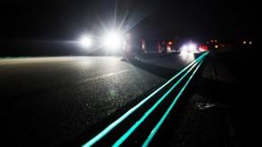 Estradas luminosas saem do papel e viram realidade na Holanda