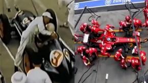 A fascinante evolução do pit stop da Fórmula 1 em meio século