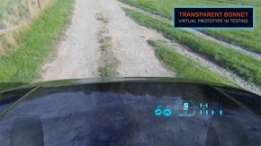 """Land Rover vai mostrar novo capô """"transparente"""" no Salão de Nova York"""