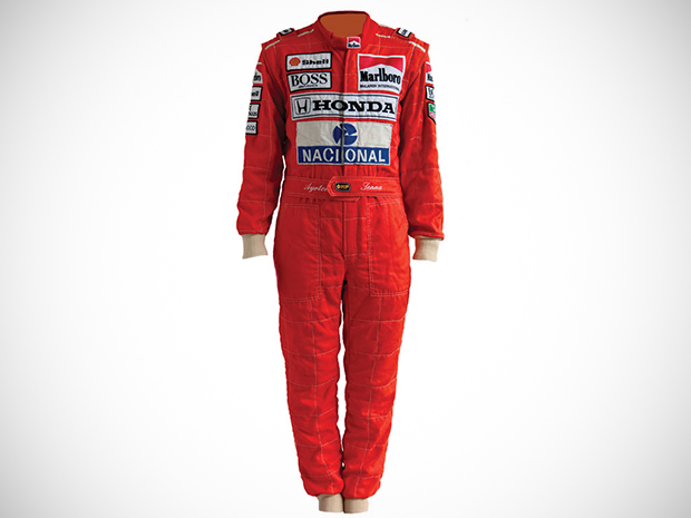 8e3d6d4056 Macacões usados por Ayrton Senna serão leiloados no mês que vem ...
