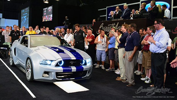 Need for Speed Mustang Auction