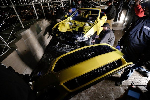 2015 Ford Mustang Convertible Assembly & Unveiling At The Empire State Building