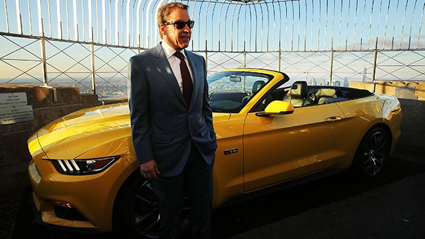 Ford Marks 50th Anniversary Of Company's Mustang By Revealing 2015 Model On Empire State Building