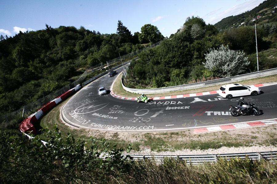 Circuito Nurburgring : Os grafites de nürburgring nordschleife flatout