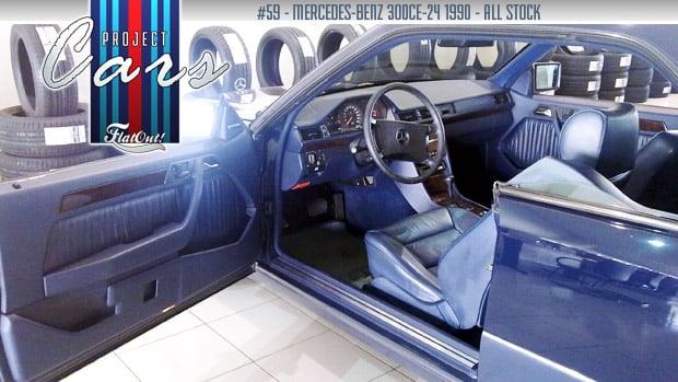 Mercedes-Benz 300CE-24: um carro pra chamar de meu