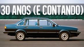 "Volkswagen Santana: a história do primeiro VW ""de luxo"" do Brasil"