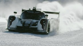 É assim que se sobe uma pista de esqui com um protótipo de corridas